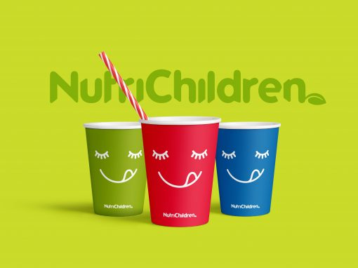 Branding . Nutrichildren